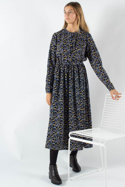 Tanisa maxi dress - Navy - Moves