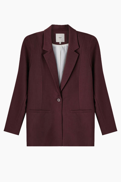 Tara blazer - fudge - Minimum