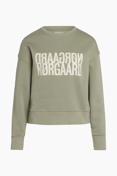 Tilvina P Organic Sweat - Light Army - Mads Nørgaard
