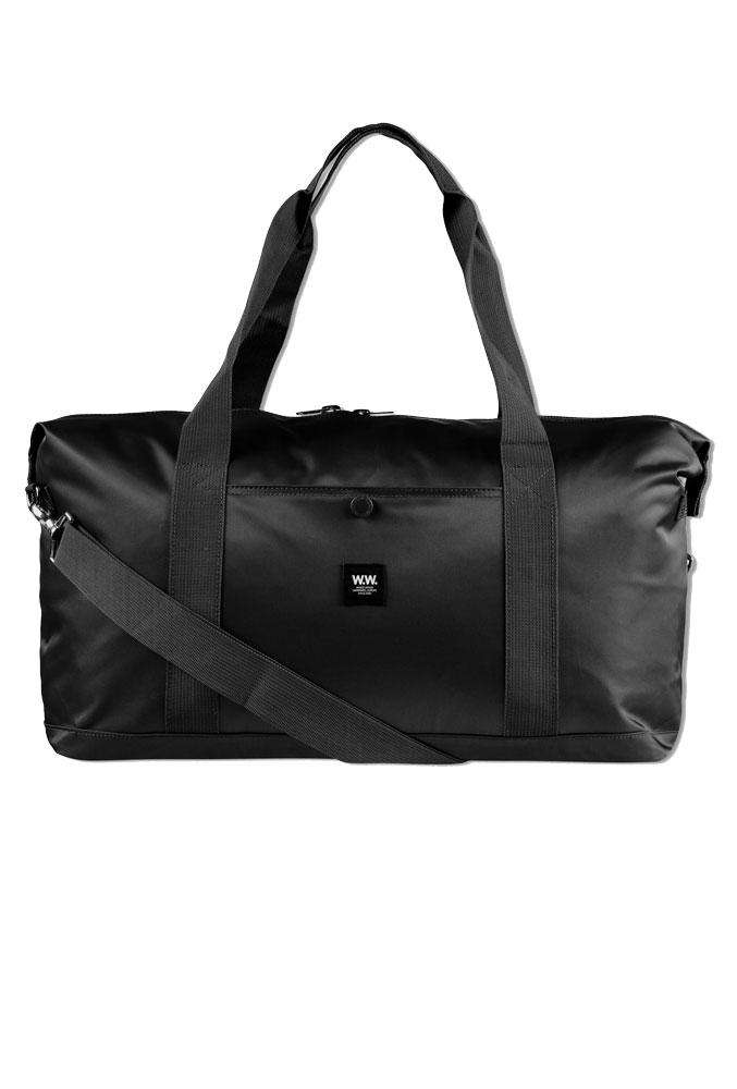 Tony weekend bag - Black - Wood Wood - Sort One Size