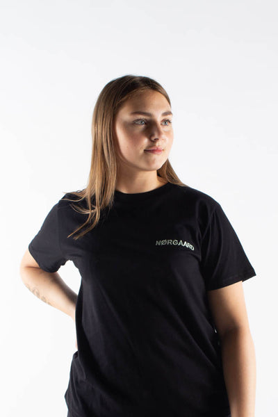 Trenda P Single Organic T-shirt - Black - Mads Nørgaard