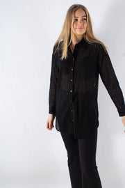 Trolla long sleeved shirt - Black - Moves