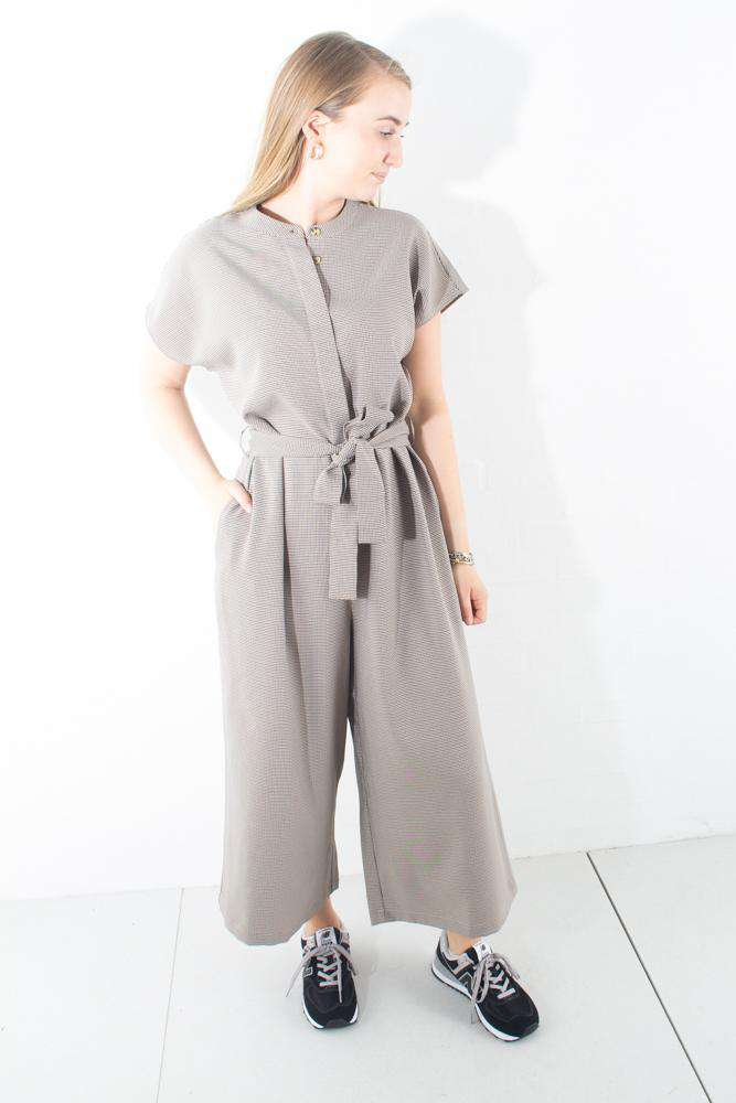 Tvilla jumpsuit - Black - Minimum - Sort XS