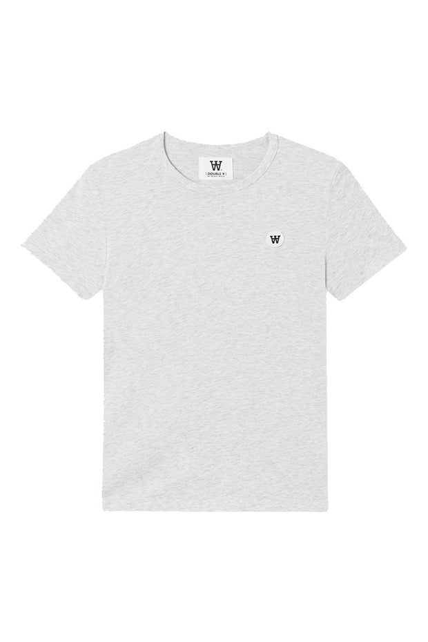 Uma T-shirt - Light grey melange - Wood Wood