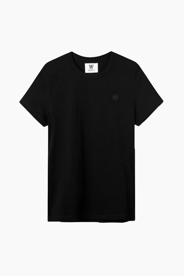 Uma T-shirt - Black/Black - Wood Wood