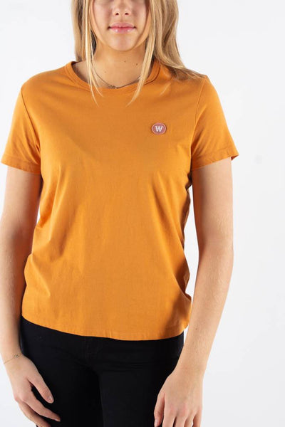Uma T-shirt - Rusty orange - Wood Wood Qnts