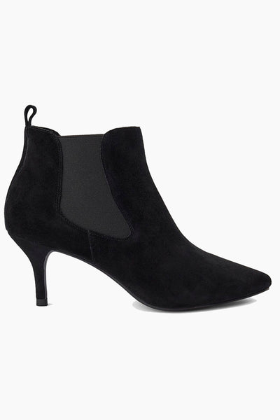 Agnete Chelsea Suede - Black - Shoe The Bear 6