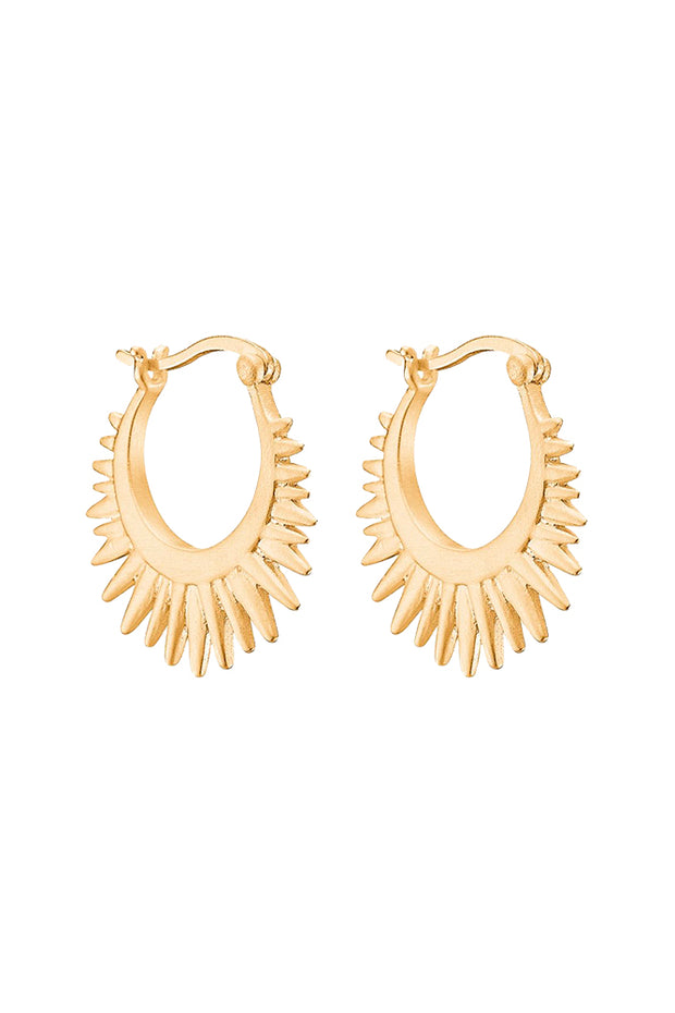 Sunrays Earring - Gold - ENAMEL 1