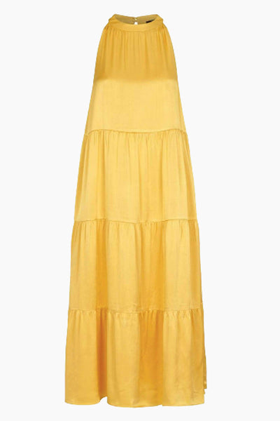 Sofie Maja Dress - Peachy Yellow - Bruuns Bazaar 7