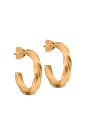 Vina Hoops - Gold - ENAMEL 1