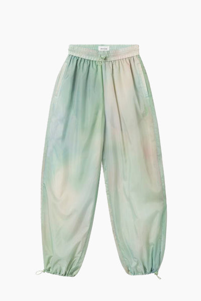 Joice Track Trousers - Green AOP - Wood Wood
