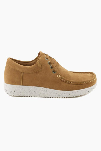 Anna Suede - Toffee - Nature Footwear