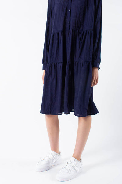Valis midi dress - Midnight - Moves