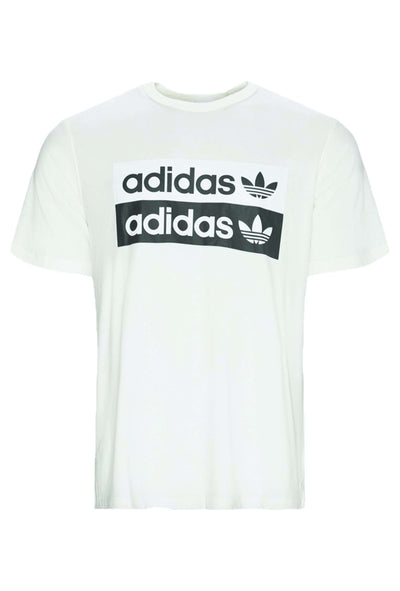 Vocal Logo Tee ED7195 White hvid Adidas Original 3
