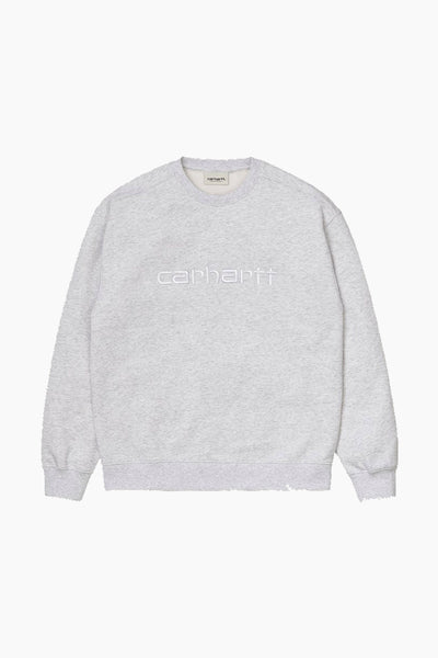 W' Carhartt Sweat - Ash Heather - Carhartt