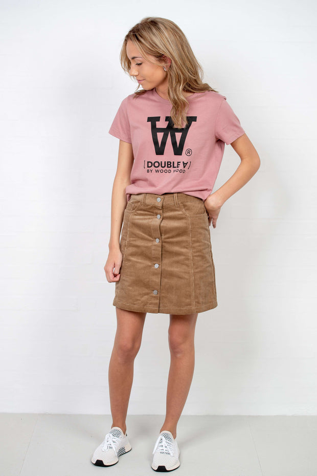 Addie Skirt fra Wood Wood - front