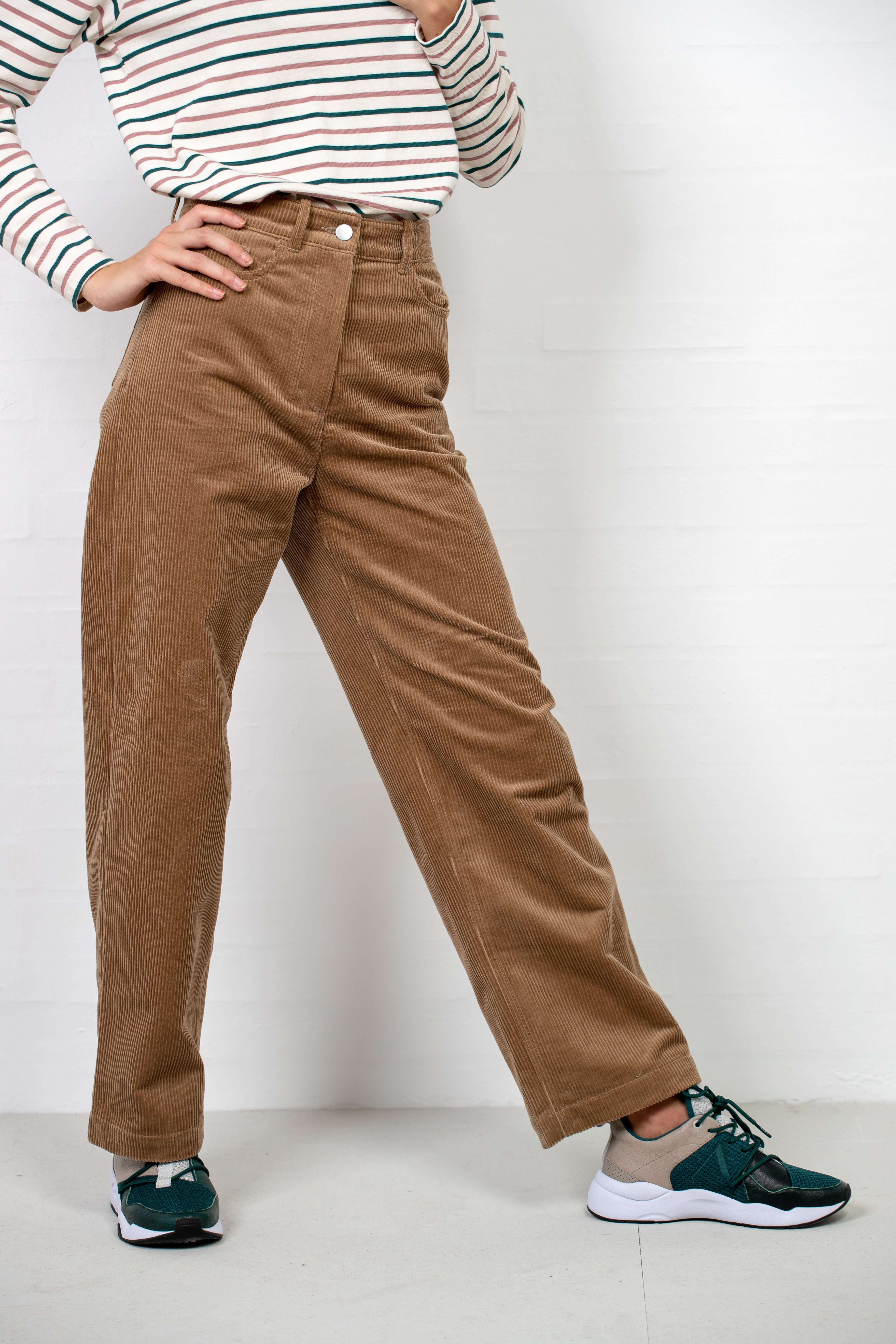 Image of   Althea Trousers - Camel L