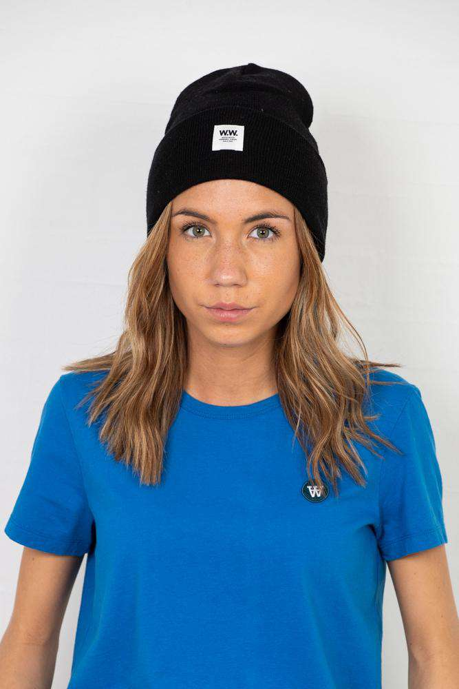 Gerald Tall Beanie - Sort - Sort ONE SIZE
