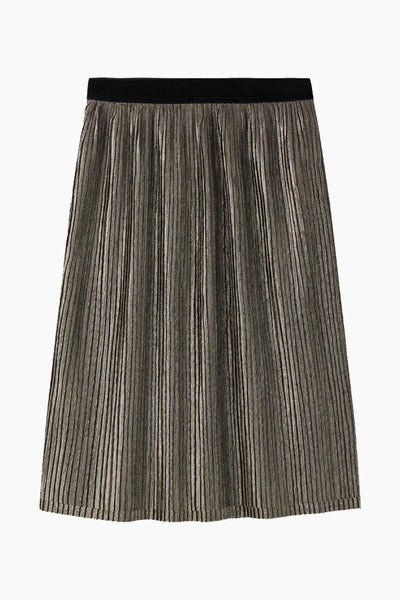 Yoanna  - Gold midi skirt - Minimum
