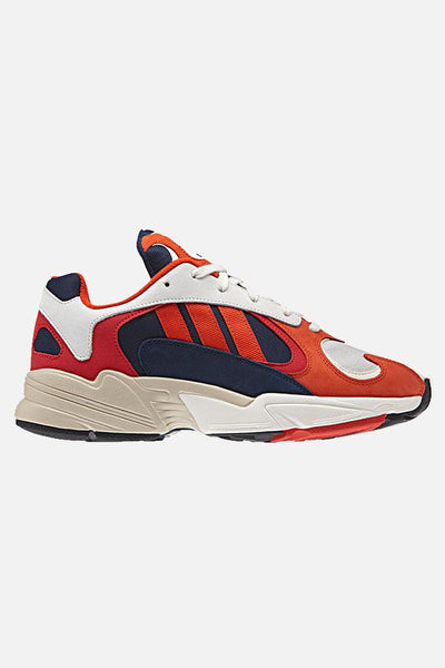Yung-1 B37615- White/Red - Adidas