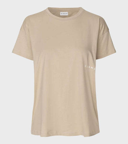 Main Light T-shirt - Humus - Blanche