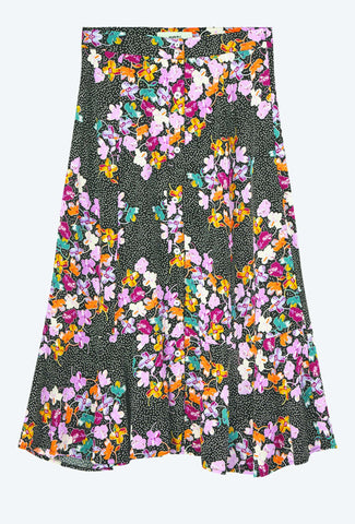 Sarahlou Midi Skirt - Sort - Moves by Minimum