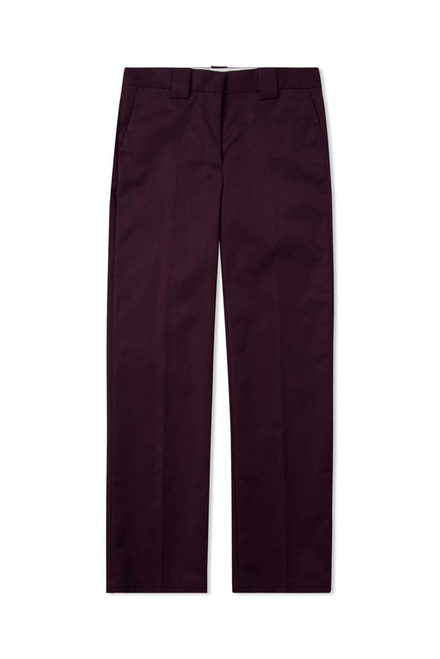 Veneda Trousers - Burgundy - Wood Wood 5