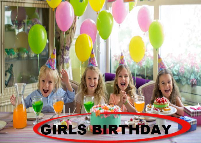 GIRLS BIRTHDAY - USA Party Store