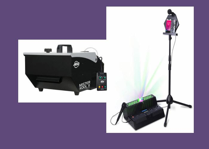 Karaoke & Fog Machines