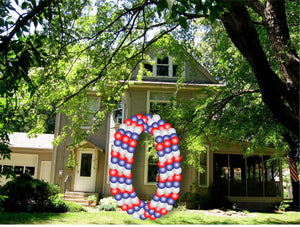 Custom Number Yard Sign -0 - USA Party Store