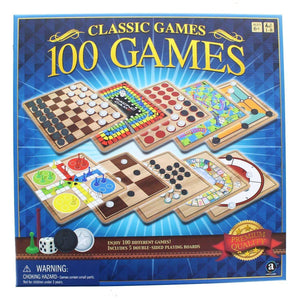 Ambassador 100 Games Classic Games Collection - usa-party-store