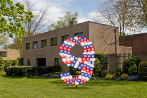 Custom Yard Number Balloon - 9 - USA Party Store