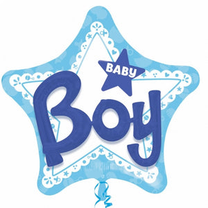 Balloon Celebrate Baby Boy - USA Party Store