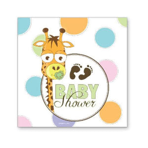 Baby Shower Beverage Napkin - 16 Count - USA Party Store