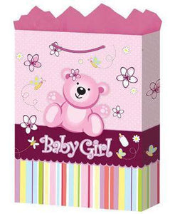 Medium Baby Girl Gift Bags - USA Party Store