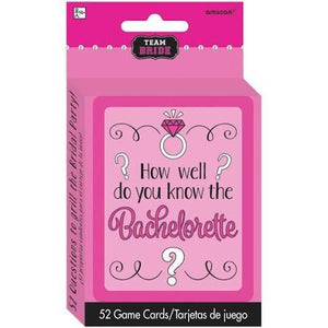 How Well Do You Know - The Bachelorette Game - USA Party Store