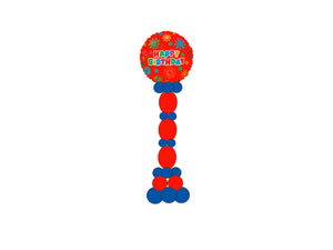 Linked Balloons Column  *** Pick-up or Delivery only *** - USA Party Store