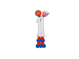 Number Balloons Column  *** Pick-up or Delivery only *** - USA Party Store