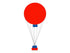 Hot Air Balloon Centerpiece  *** Pick-up or Delivery only ***