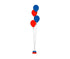 4 Balloons Bouquet Column  *** Pick-up or Delivery only ***