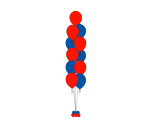 Floor Balloons Bouquet (11)  *** Pick-up or Delivery only *** - USA Party Store