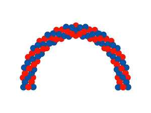 Garland Arch  *** Pick-up or Delivery only *** - usa-party-store