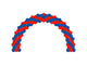Standard Spiral Arch *** Pick-up or Delivery *** - USA Party Store