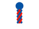 Spiral  Balloon Column - USA Party Store