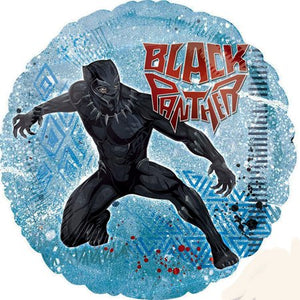 "Black Panther Foil Balloon 18"" - usa-party-store"