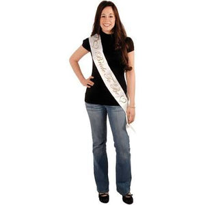 Bride to Be Satin Sash - USA Party Store