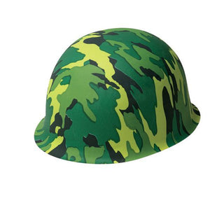 Camouflage Army Helmet - USA Party Store