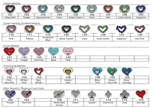 Charms - Hearts - USA Party Store