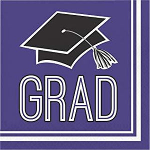 Congrats Grad dinner plates - usa-party-store