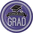 Congrats Grad Dinner Plates - USA Party Store